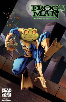 Frogman pin-up