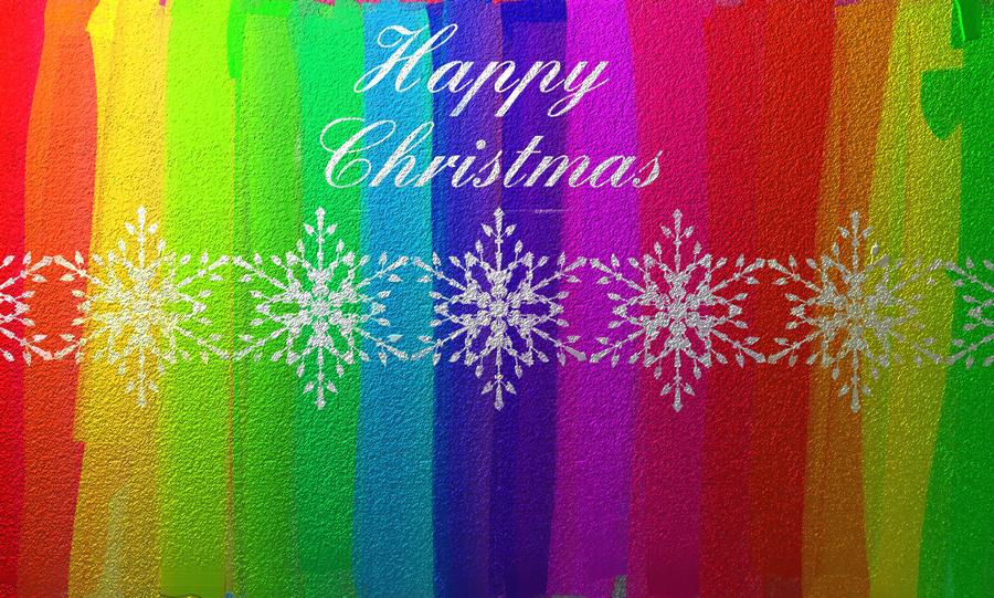 Happy Christmas Rainbow by AlexSatriani on DeviantArt