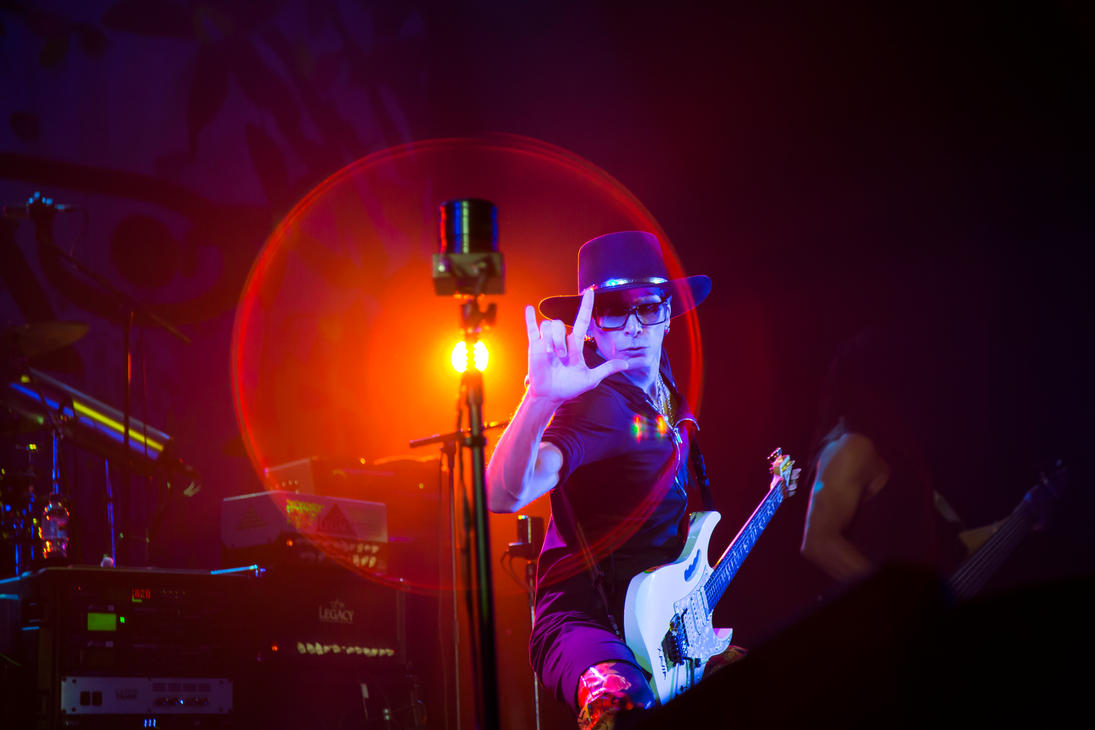 Steve Vai in London 2012 by AlexSatriani