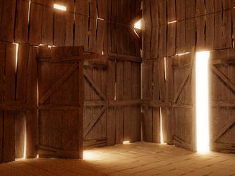 shack wip by Chrysley