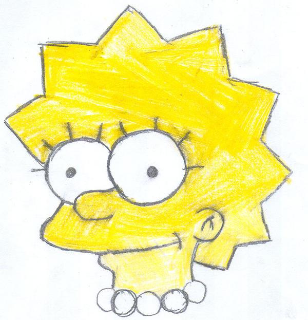Lisa Simpson by LuigiGuy667788