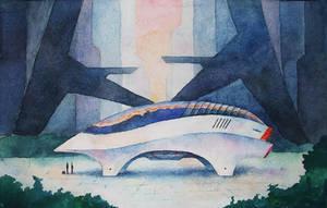 Concept ship by sergin3d2d