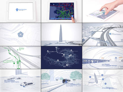 Lakhta Center. Transport solution