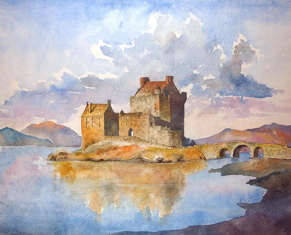 Eilean Donan castle by sergin3d2d