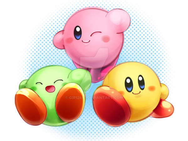 Kirbys by gir12457