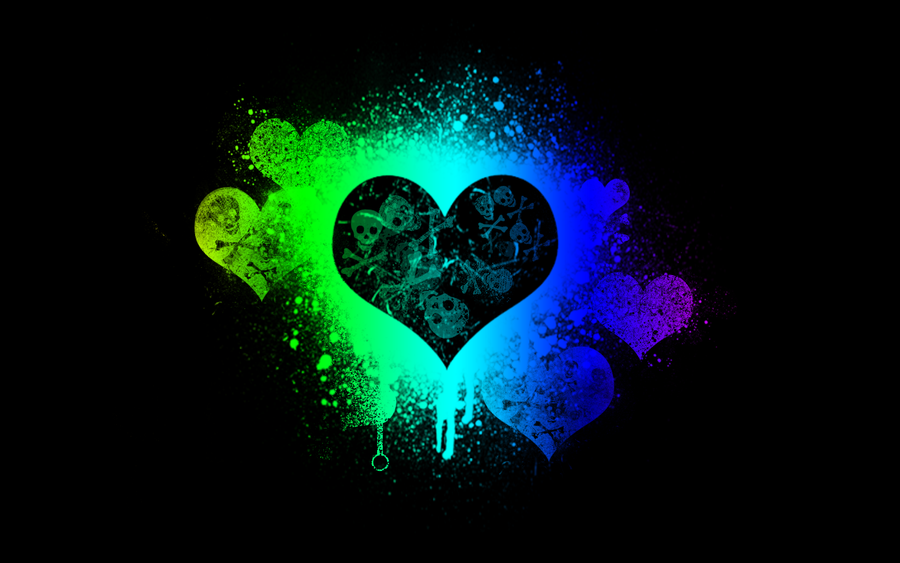 Love Kills by BrokenWallpapers on deviantART