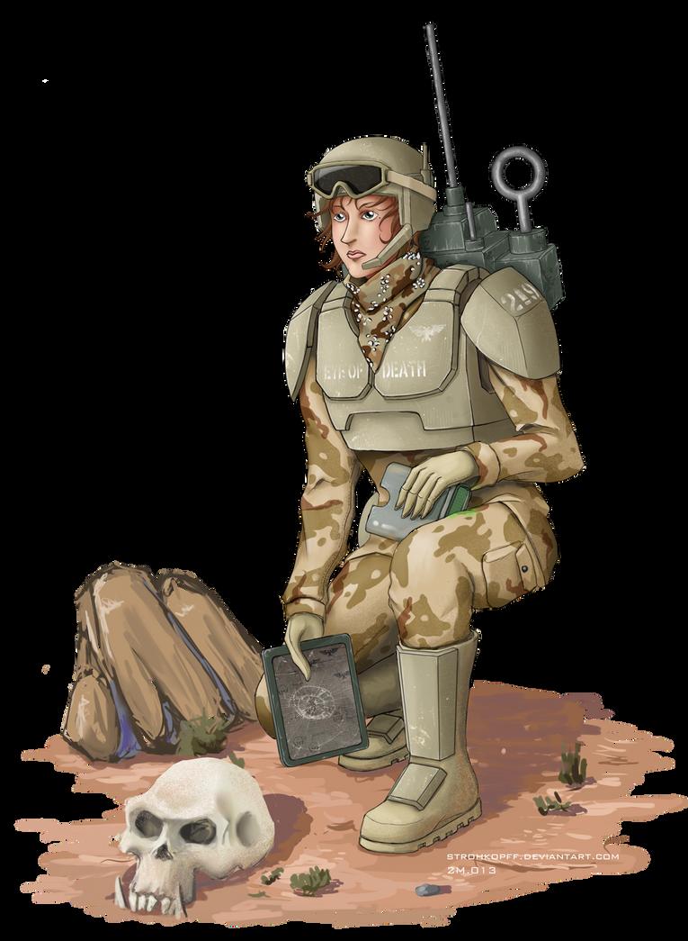 Artillery Spotter of Desert Korps.