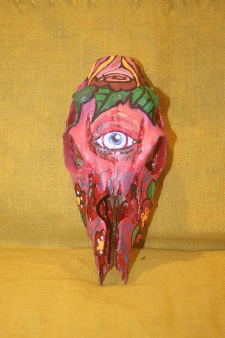 skull painting by Gioart23