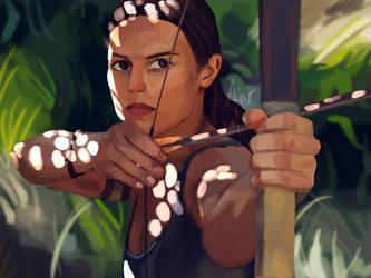 Lara Croft Tomb Raider by Klaritaa