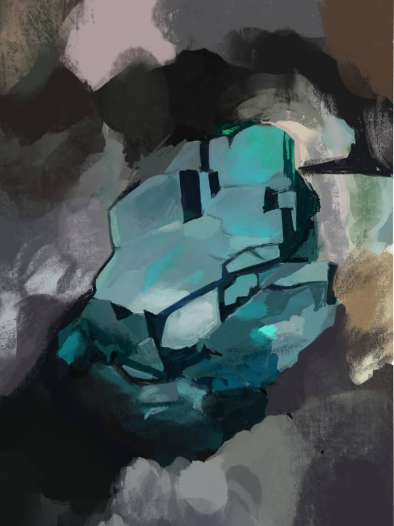 Study of a veszelyite crystal by Klaritaa