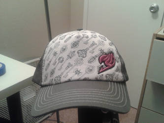 my new fairy tail hat by christioni96