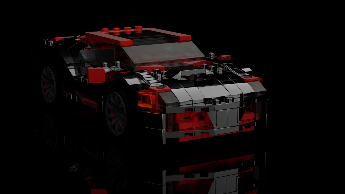 Lego Race car by christioni96