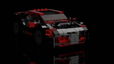Lego Race car by christioni96
