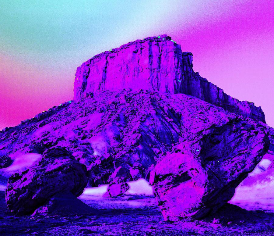 Image result for purple desert