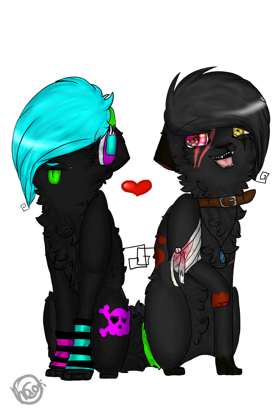 Best Friends. by CrazyKaorix3