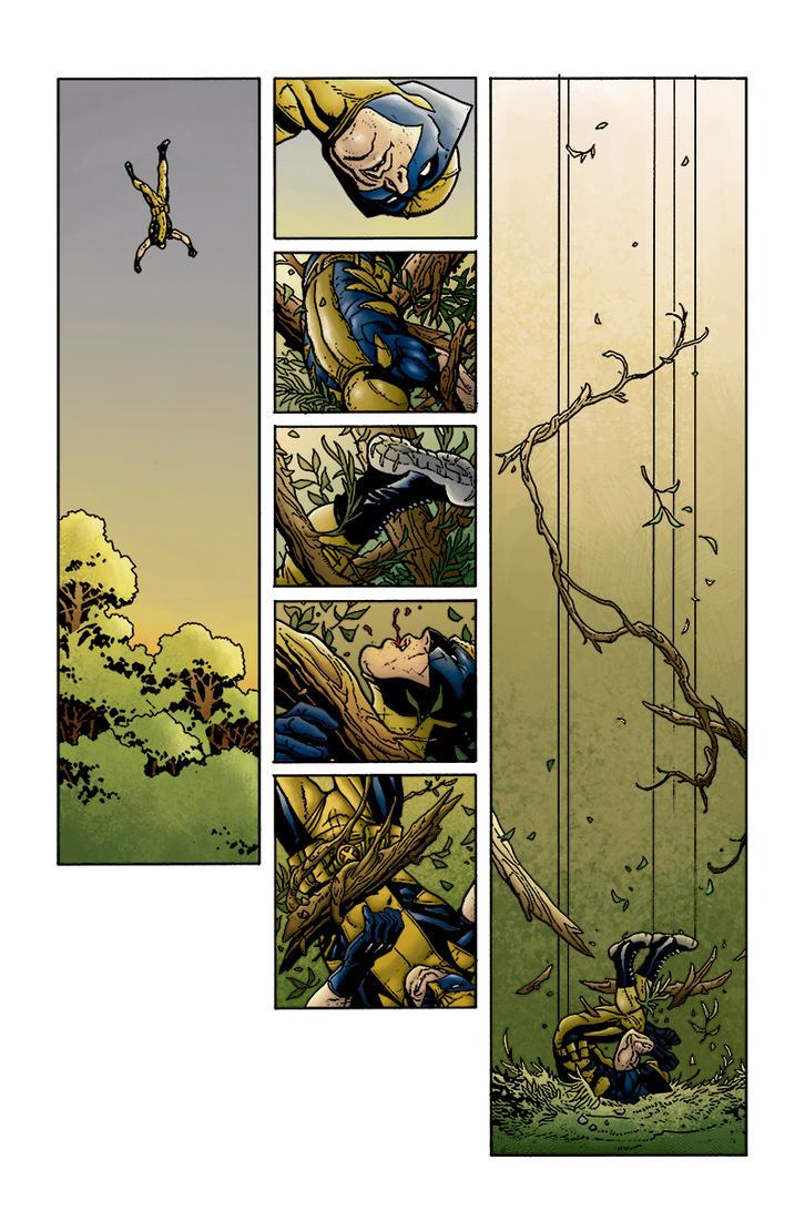 Savage Wolverine #2 - Kill Island (page 04) by FranciscoNarde