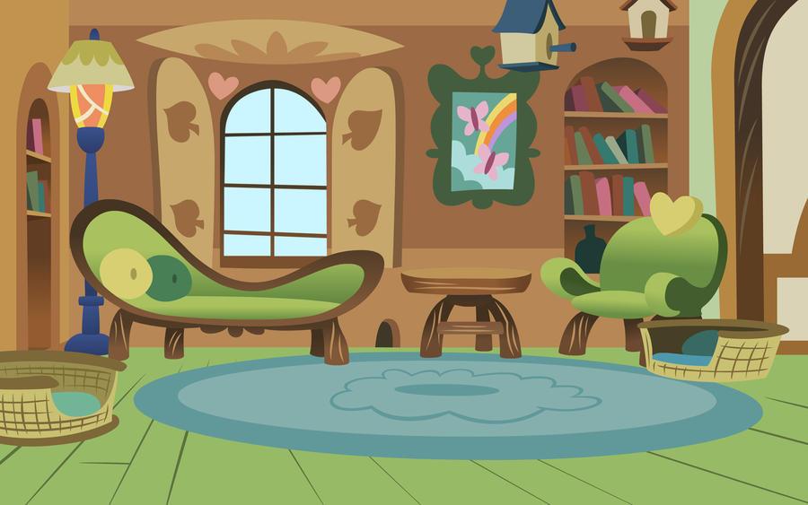 House Party Living Room Cartoon