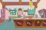 Sugar Cube Corner Kitchen