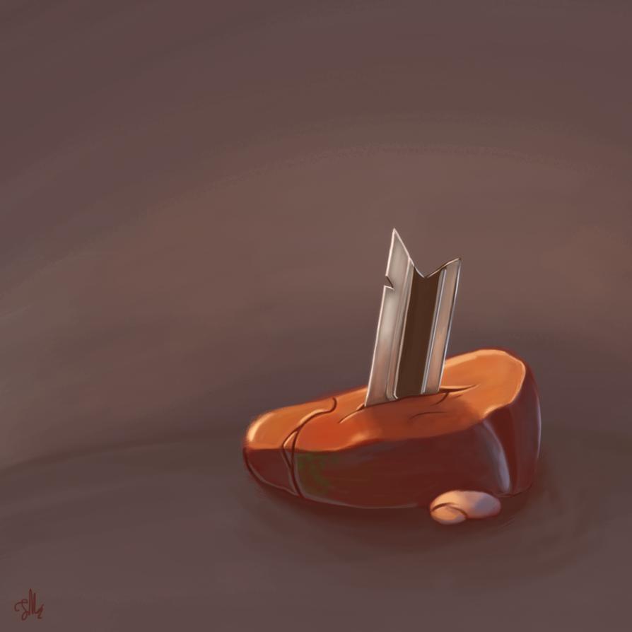 Bladerock [Practice] [Digital Painting] by MonkeyMoniker