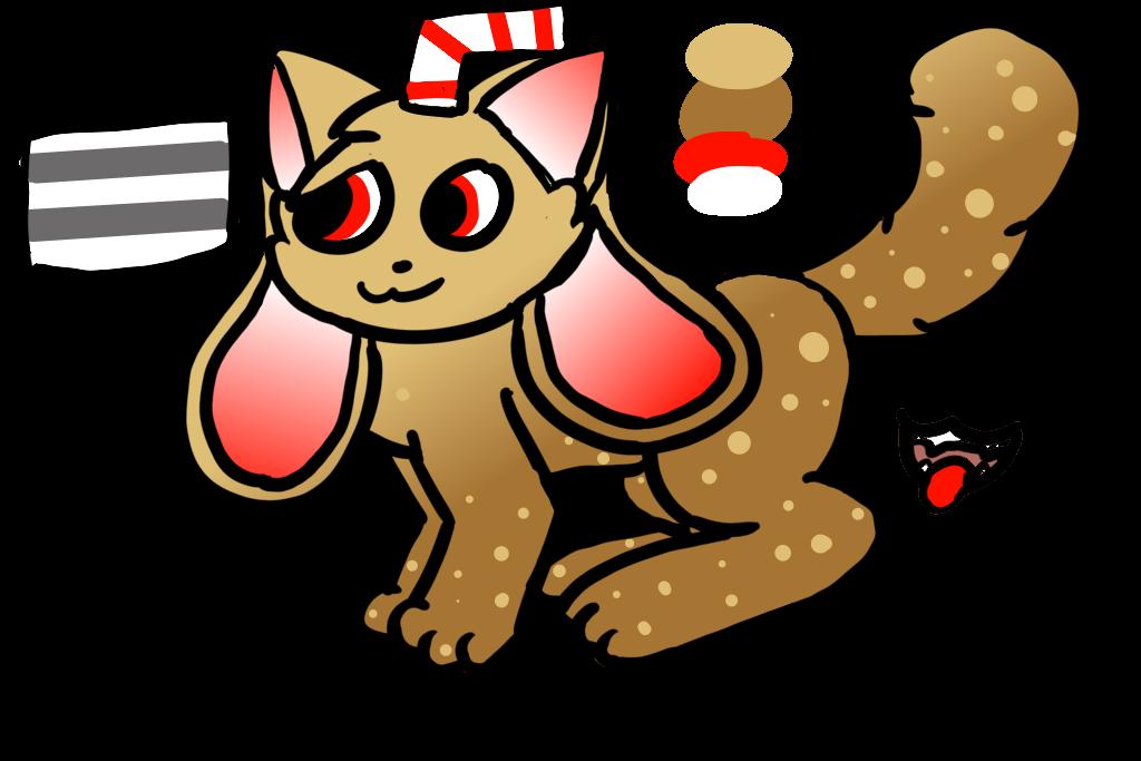 CXLA (kittydog oc) by Sherlya3266