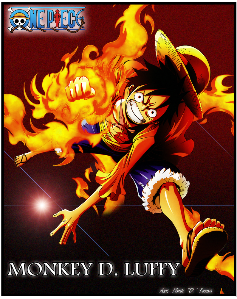 Luffy's Wallpaper by LuffyZoroSanji on DeviantArt