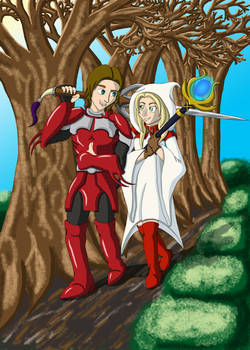 The Red Knight to My White Mage