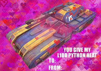 here another planetside valentine's day card by sheenashark