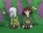 butterfly garden (open collab by shimmer-shy)