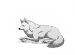 wolf art commission
