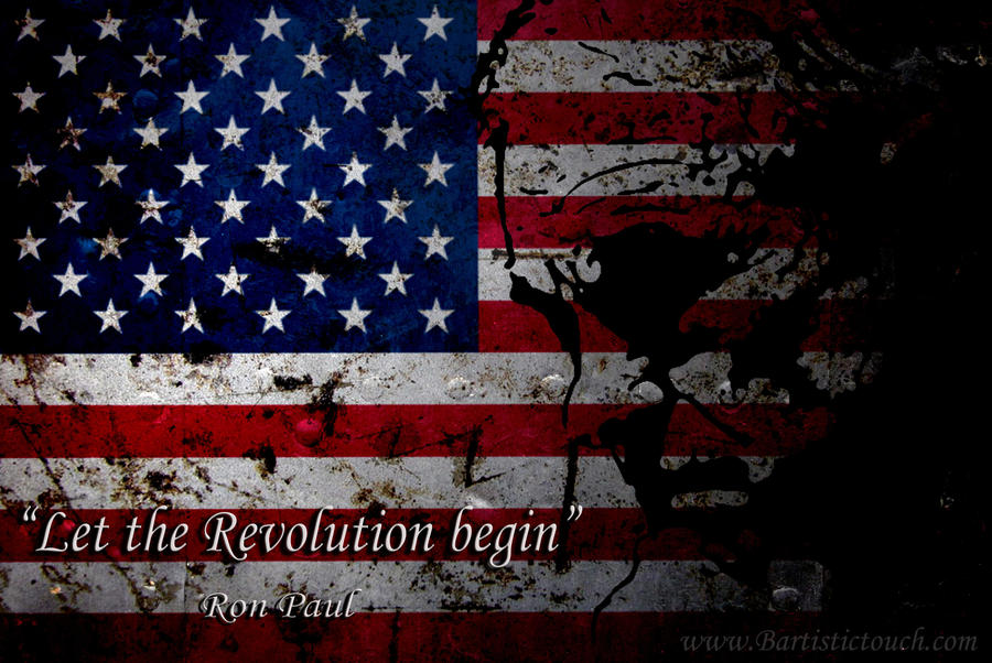 Ron paul revolution by Bartistictouch