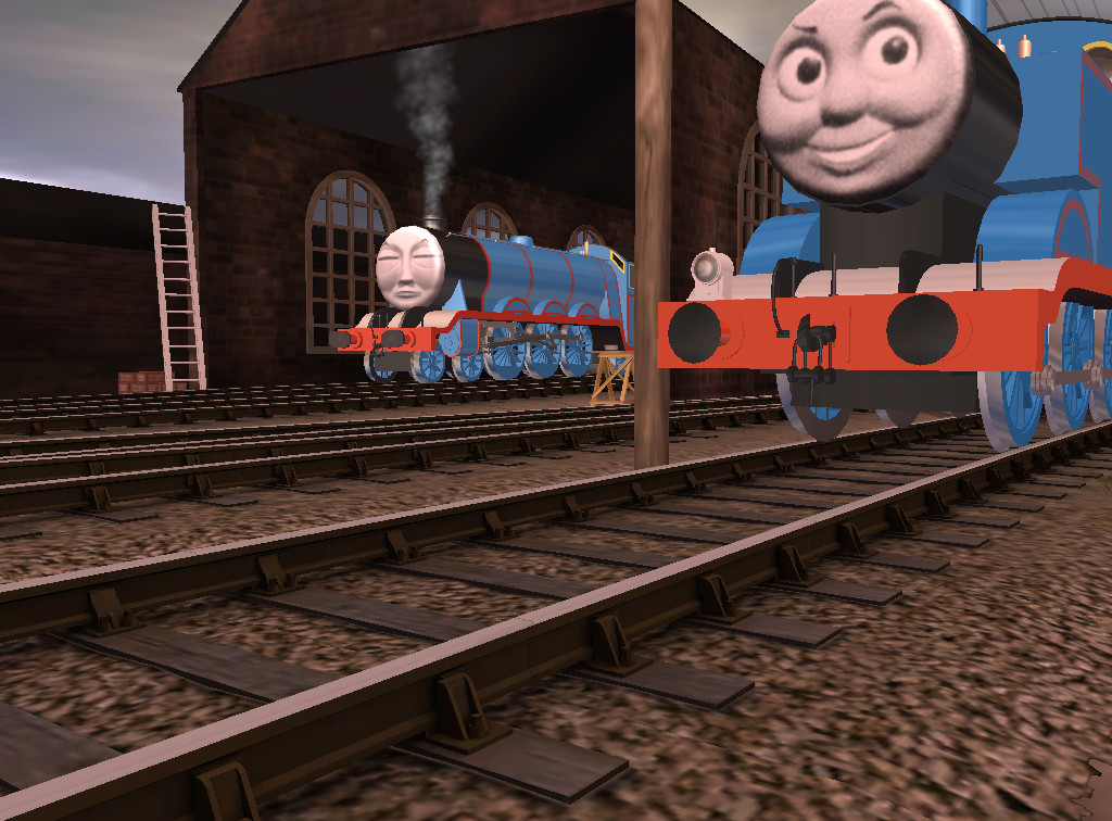 Sodor Island Remakes Episode 1 - Thomas + Gordon by
