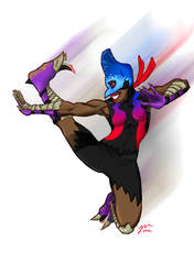 The One and Only Cassowary by Voodoofish