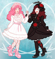 Pretty Friends! by Voodoofish