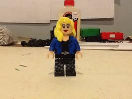 Lego custom DC Black Canary (READ DESCRIPTION)