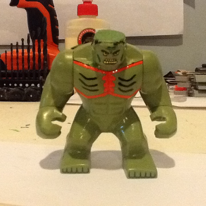 Lego custom Marvel Abomination by ATB1996 on DeviantArt  How