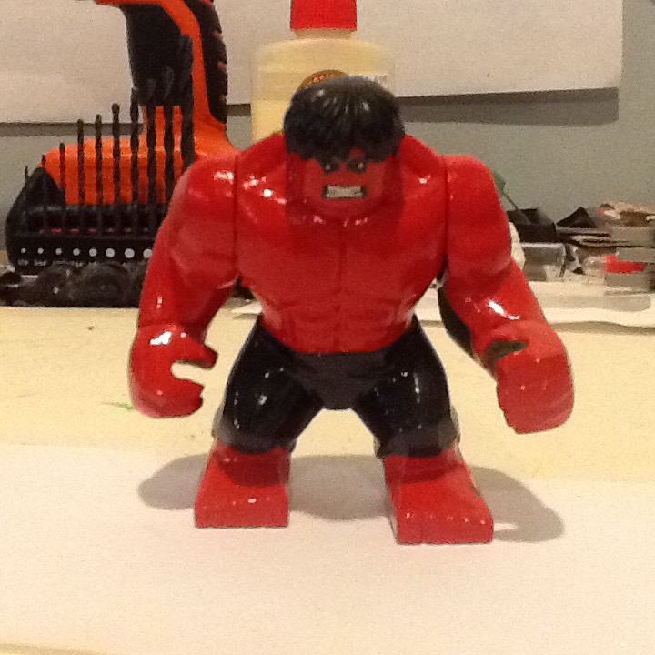 how to get red hulk in lego marvel