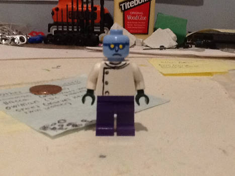 Lego custom Simpsons Dr. Colossus
