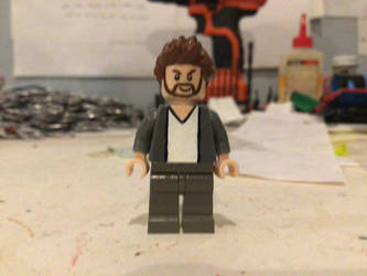 Lego custom Dimensions Joe McHale