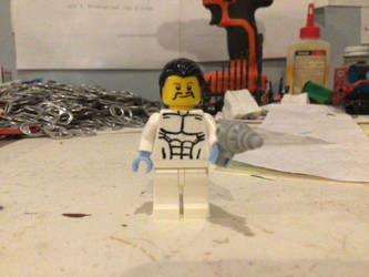 Lego custom Ninjago Fritz Donnegan