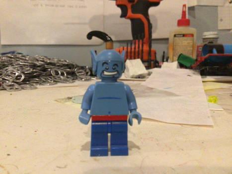 Lego custom Disney Free'd Genie
