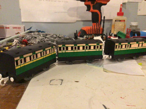 TOMY/Trackmastrer Old Mainline Coaches