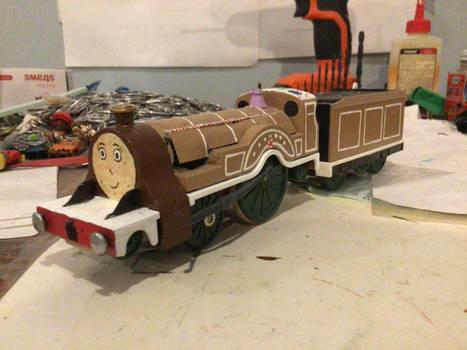 TOMY/Trackmaster custom Cocoa (My OC, W.I.P.)