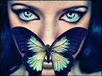 Butterfly eyes by ThErEaLDoLLyFrikka