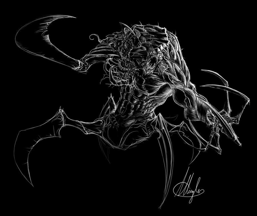 Four Legged Freak by LordNetsua