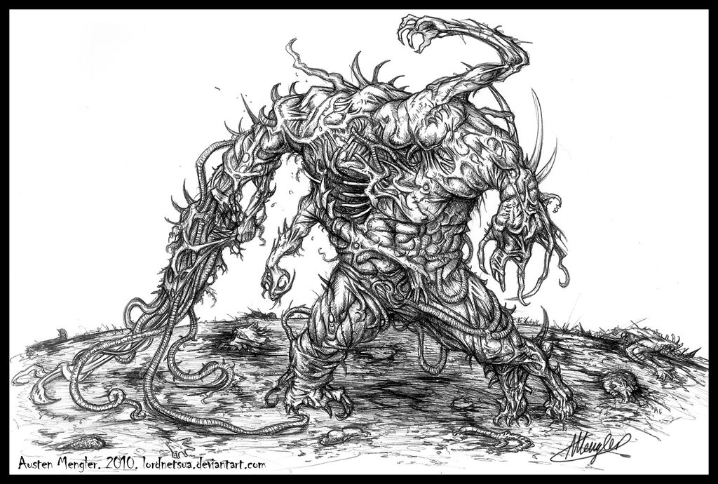 Flesh Golem by LordNetsua