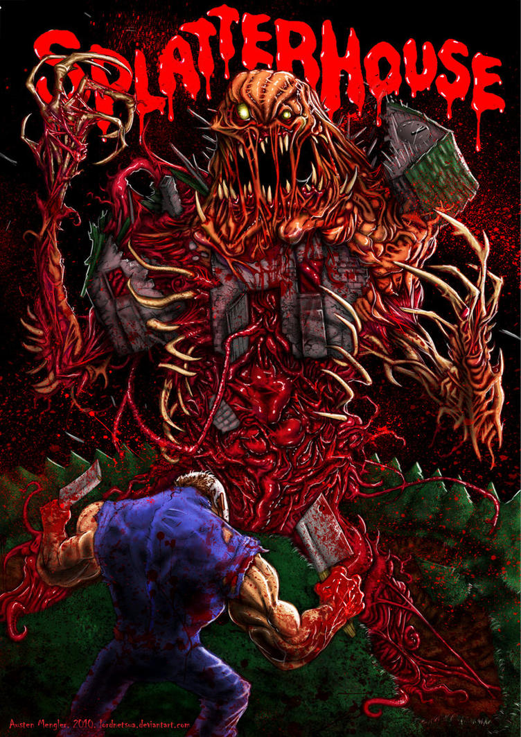 Splatterhouse by LordNetsua
