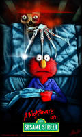 A Nightmare on Sesame Street by AustenMengler