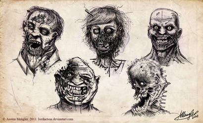 The Walking Dead by AustenMengler