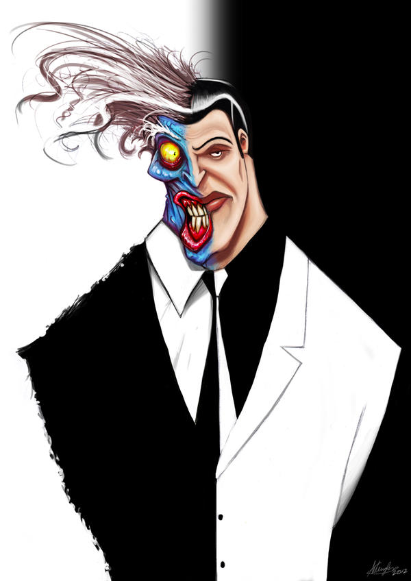 Two-Face by LordNetsua