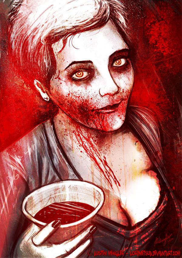 Bloodstain by AustenMengler